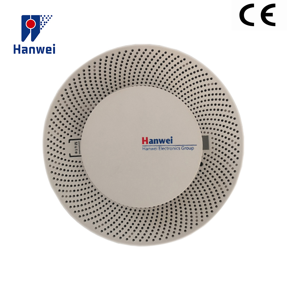 Hanwei YB010 5 Years Enhanced Smoke Detector Fire Alarm, Fast Response Fire Detector CE Approved 2400mA  Battery Included
