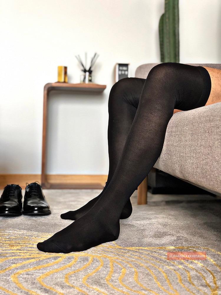 Over Knee Calf Above Knee Nylon Socks Long Socks Man