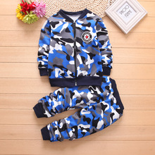 Toddler Boy Girl Clothes 2019 Fall Set 2pcs Kid Clothing Children's Costume Sports Suit for A Boy 1 2 3 4 5 Year Camouflage thelma inman a boy called kid