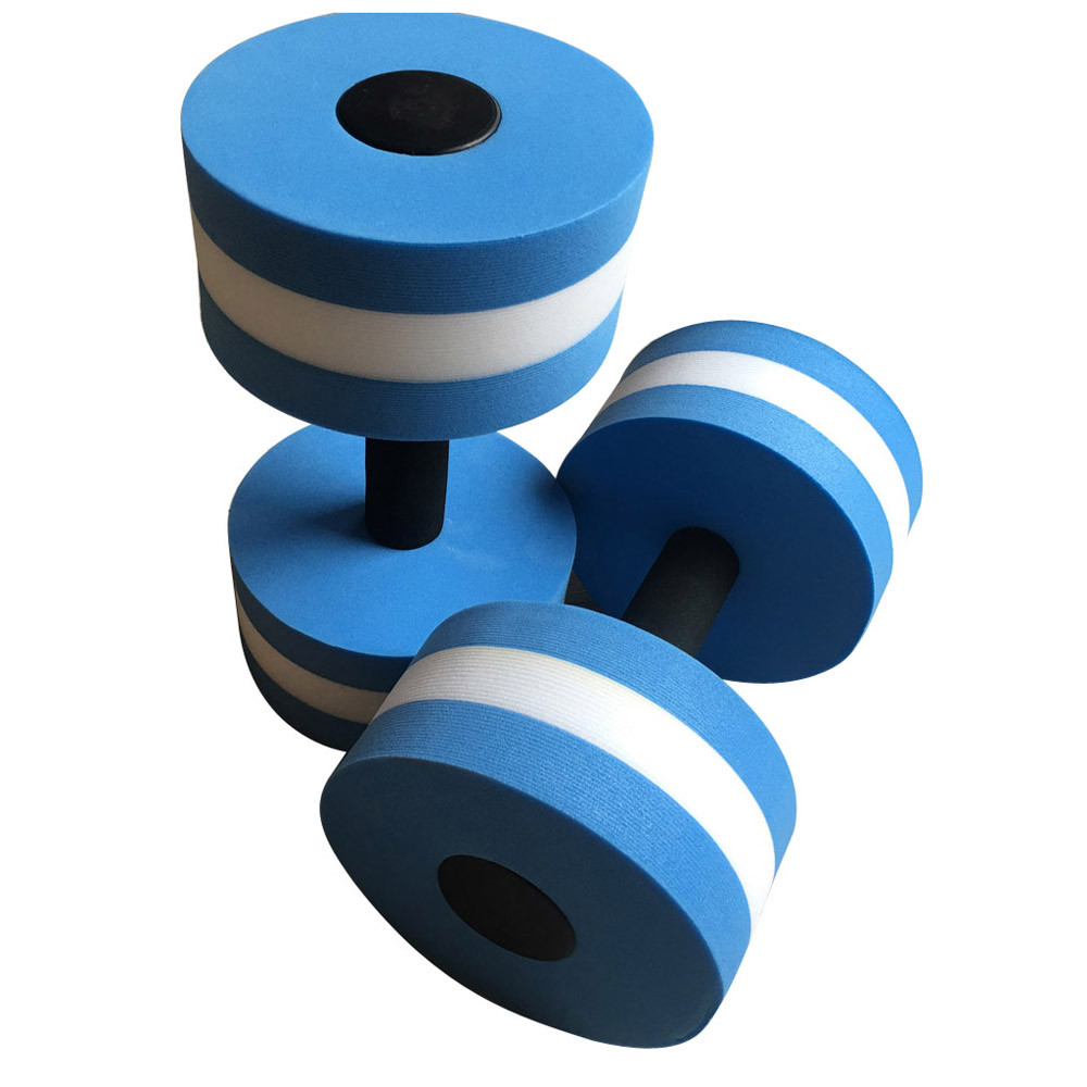 2 stücke Wasser Aerobic Hanteln EVA Aquatische Barbell Fitness Aqua Yoga Trainning Fitness Workout Aqua Pool Übung Pool Langlebig