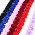 (1 meter) Chiffon spitze stoff Gurtband Dekoration blume geschenk bänder handwerk vliesstoffe basis