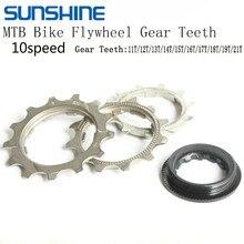 10 Speed Cassette Tool Bicycle Freewheel Teeth Gear Repair Parts 11T-21T MTB Road Bike Flywheel Fixed Gear Repair Part Kits