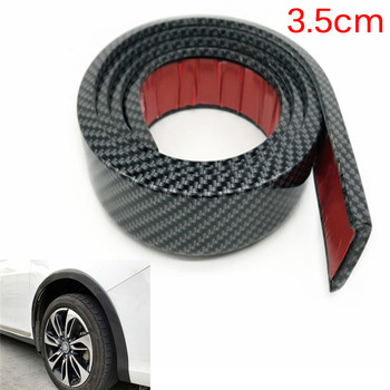 Car Tires Eyebr soft Lip Wheel-arch Trim Wheel Eyebrow Arch Decorative Strip Car Fender Flare Extension Wheel Eyebrow Protector image