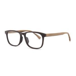 Image 3 - HDCRAFTER وصفة النظارات الإطار الرجال والنساء خشبية الموضة الرجعية النظارات البصرية النظارات إطار نظارات