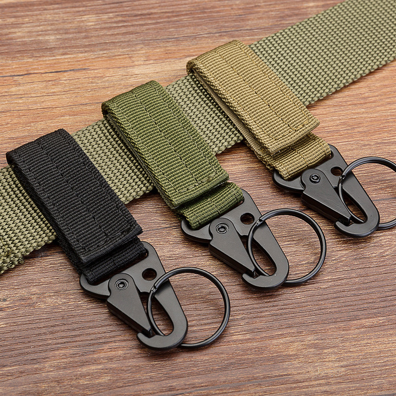 Outdoor Tactical Belt Buckle Belt Key Ribbon Mountaineering Multi-function Hanging Buckle Manufacturer Wholesale Spot