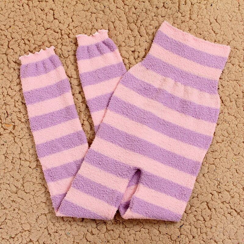 Теплые штаны из микрофибры, эластичные брюки для женщин, сохраняющие тепло, домашние штаны в физиологический период для увеличения - Цвет: FZT