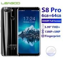 Оригинальный Новый LEAGOO S8 Pro 6 Гб 64 Гб 5,99
