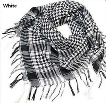 Hot Sale!!! Fashion Unisex Women Men Checkered Arab Grid Neck Keffiyeh Palestine Scarf Wrap Polyester Shawl For