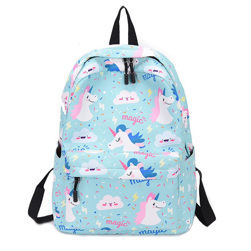Backpack Women 2019 Oxford Unicorn Harajuku Fashion High Capacity Female School Bags For Teenage Girls Women Backpack Schoolbag