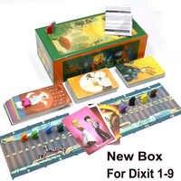Englisch version dixit 1 2 3 4 5 6 7 8 bord spiel holz bunny spielzeug pädagogisches kinder für hause party spaß karten spiel