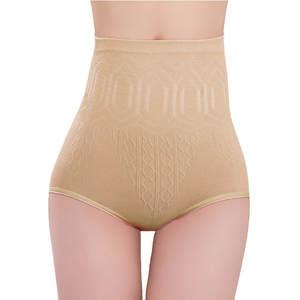 Pantie Briefs Shapers Knickers-Pants Lady Underwear Seamless High-Waist Women Tummy-Control