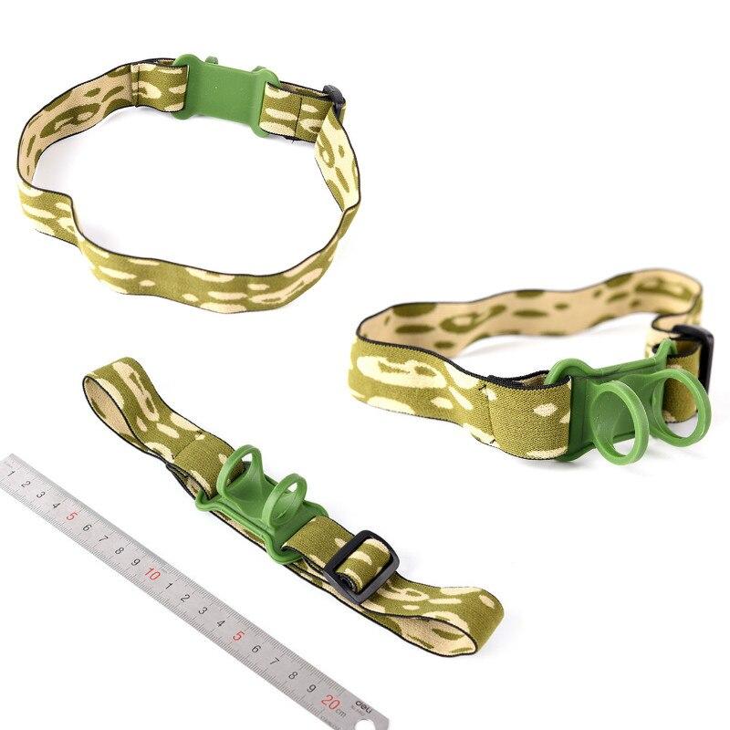 Headband Head Belt Head Strap Mount Holder For 18650 Headlight Flashlight Lamp Torch Headlamp 1pc