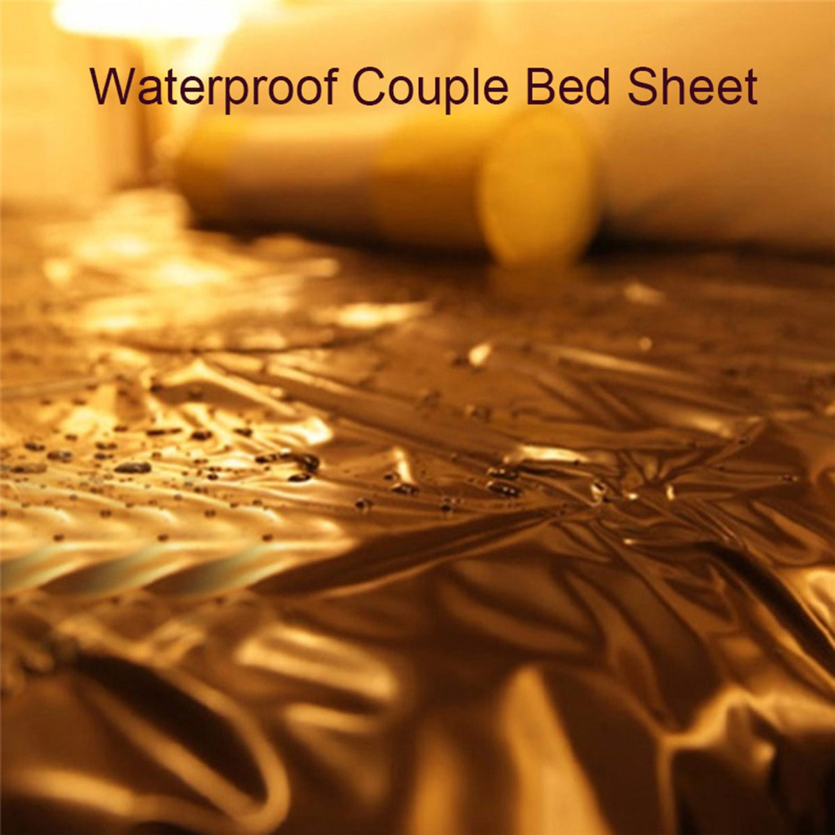 Waterproof Adult Sex Bed <font><b>Sheets</b></font> <font><b>PVC</b></font> Vinyl Mattress Cover Allergy Relief Bed Bug Hypoallergenic Sex Toys Game for Couples Gay image