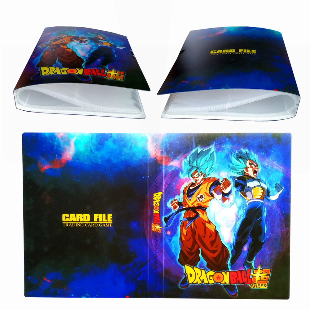 Kids Gift Cartoon Anime Yu Gi Oh 240pcs Holder Album Toys Dragon Ball Collection Cards Album Book Top