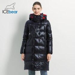 2019 Nuove Donne di Inverno Giacca Donna di Modo Del Cotone di Alta Qualità Femminile Parka con Cappuccio Cappotti Marchio di Abbigliamento Delle Donne GWD19501