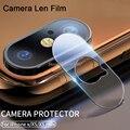 2 предмета в комплекте Стеклянный чехол для объектива телефона для iPhone X XR XS 11 Pro Max, закаленное стекло, защитная пленка для объектива камеры д...