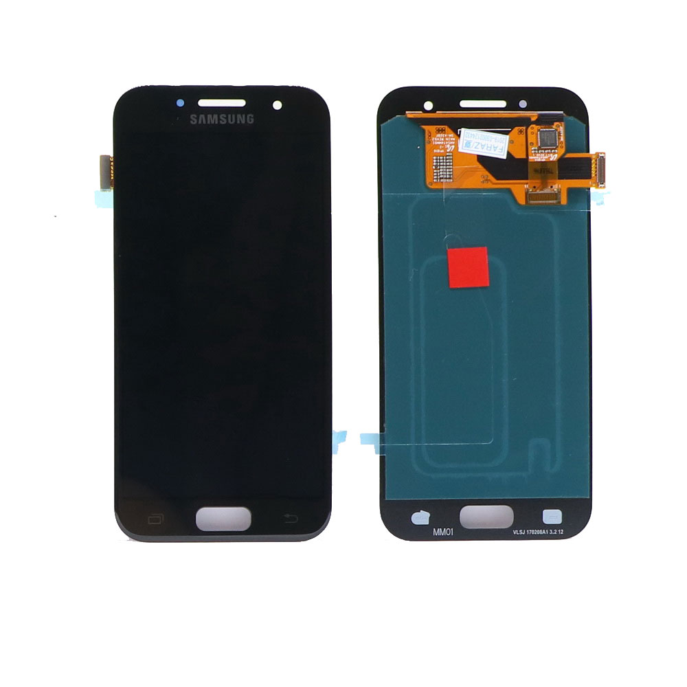 100% original Super <font><b>AMOLED</b></font> <font><b>A320</b></font> LCD screen For SAMSUNG Galaxy A3 2017 <font><b>A320</b></font> A320M A320F A320Y touch screen digitizer component image