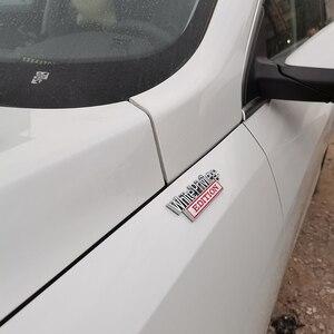 Image 5 - Weiß Privileg Edition Emblem Abzeichen Auto Aufkleber Für Jeep Compass Patriot Renegade Ford F150 F250 F350 Chevrolet RAM GMC Hummer