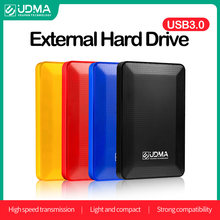 UDMA USB 3.0 External Hard Disk Drive Disco Duro Externo 500G 750G 1Tb 2TB HDD Storage Device For PC, Mac, Desktop, Laptop,PS4/5