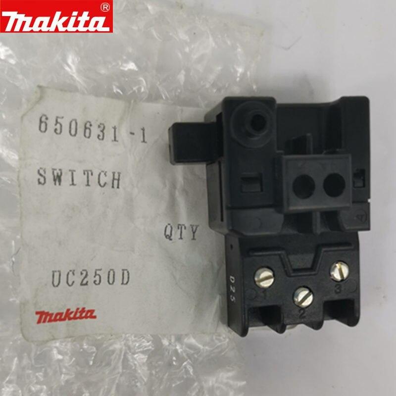 MAKITA 650631-1 Switch For DSS610 BSS610 DSS610RMJ DHS630Z DHS630RMJ DHS630RFE BSS610SFE BSS610RFE BHS630Z UC250D DKP180 BUC250