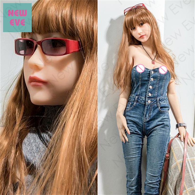 Asian Love Doll, Japanese Anime Silicone Sex Dolls, 165cm A Cup Chinese Young Elf Girl, Small Breast Vagina Pussy Anal Oral Sex