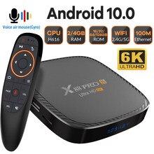 Transpeed caixa de tv android 10 allwinner h616 duplo wifi bluetooth5.0 assistente de voz 6k 4k 1080p media player caixa de tv conjunto caixa superior