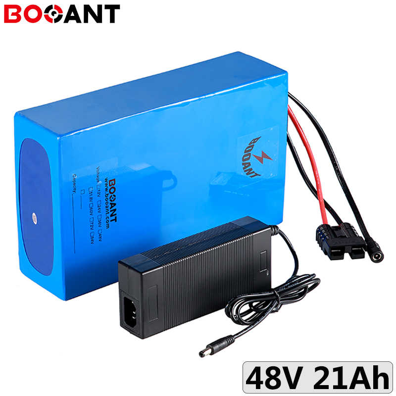 13S 48V 20Ah 500W 1000W rechargeable battery pack 18650 48V 20Ah 750W 1500W electric bike lithium ion battery with 5A Charger