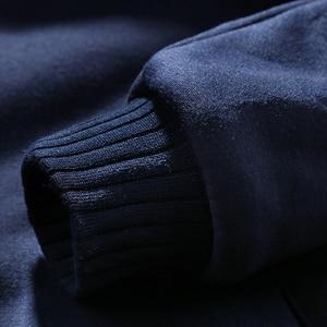 Image 5 - WARM ผู้ชายชุดลำลองหนาขนแกะชุดกีฬาเสื้อ + กางเกง 2 ชิ้นชุด Slim Tracksuit ชาย Hoodies ยี่ห้อเสื้อผ้า