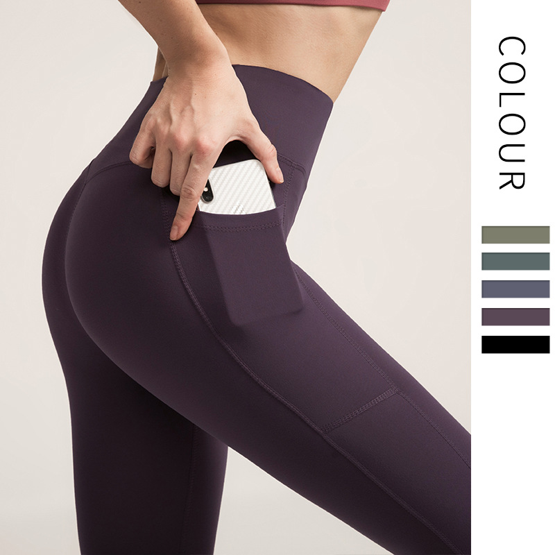 New Women Autumn And Winter New High-waist Yoga Pants Female Fitness Pants No Embarrassment Line Sports Pants Gym Leggings