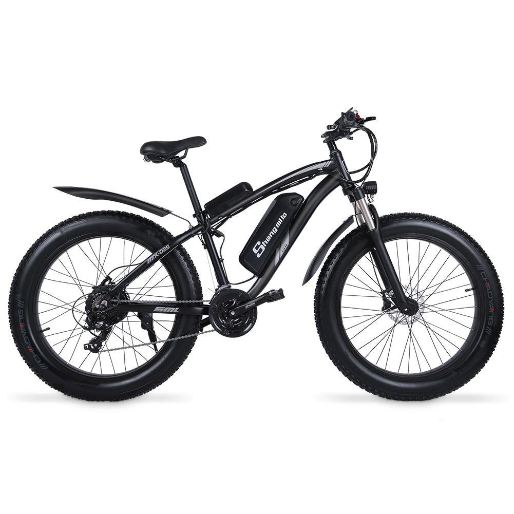 Shengmiluo Electric Bike MX02S Mountain Electric Bike 1000W Bike 26 Inch Men's bicycle Outdoor Beach Mountain Bike 48V17AH 5