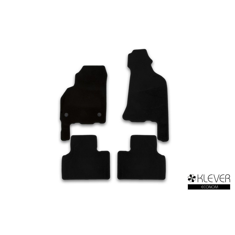 Floor mats Klever for LADA Priora 2007   cotton  gray  4 PCs (textiles) KLEVER01521601200k|Floor Mats| |  - title=
