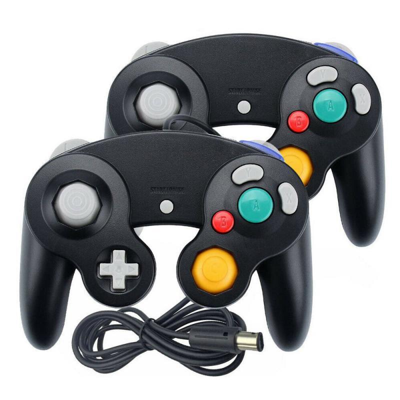 2 шт. проводной геймпад для джойстика God NGC GC джойстик Джойстик для контроллера Gamecube для Wii u Gamecube игровой аксессуар