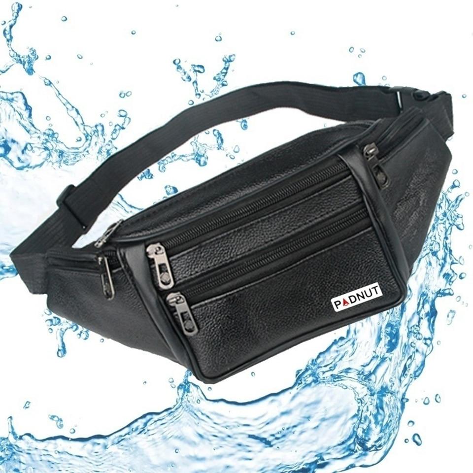Waist Bag Men Fanny Pack Male Pouch Belt Chest Bum Bags Waist Packs PU Leather Money Mobile Phone Outdoor Pochete Nerka Heuptas