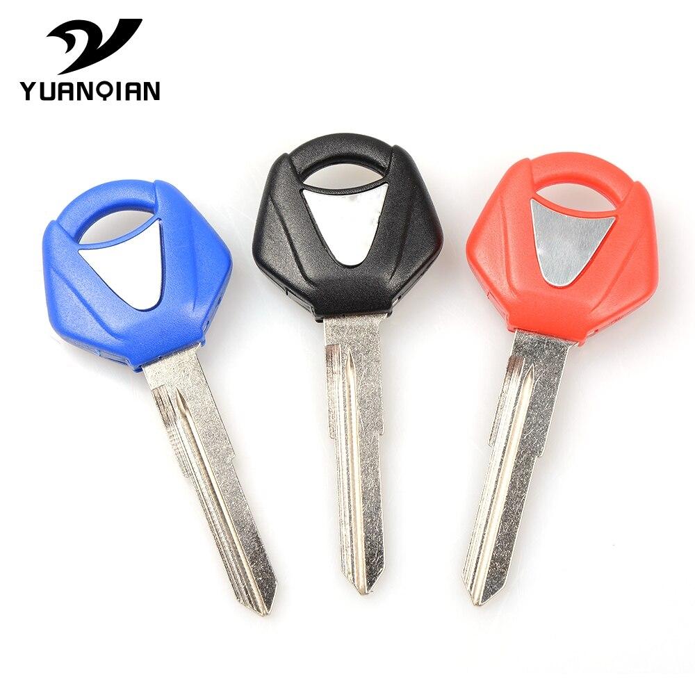 For YAMAHA R3 R25 R 3 R 25 Motorcycle Accessories Keys Rings Keys Embryo Moto Uncut Keyring Embryo Blank Keys  For Yamaha R3 R25