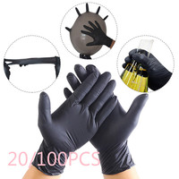 20/100 Pcs Protection Cleaning Latex Gloves 4 Sizes Waterproof Corrosion Resistant Gloves Disposable Durable Safety Gloves