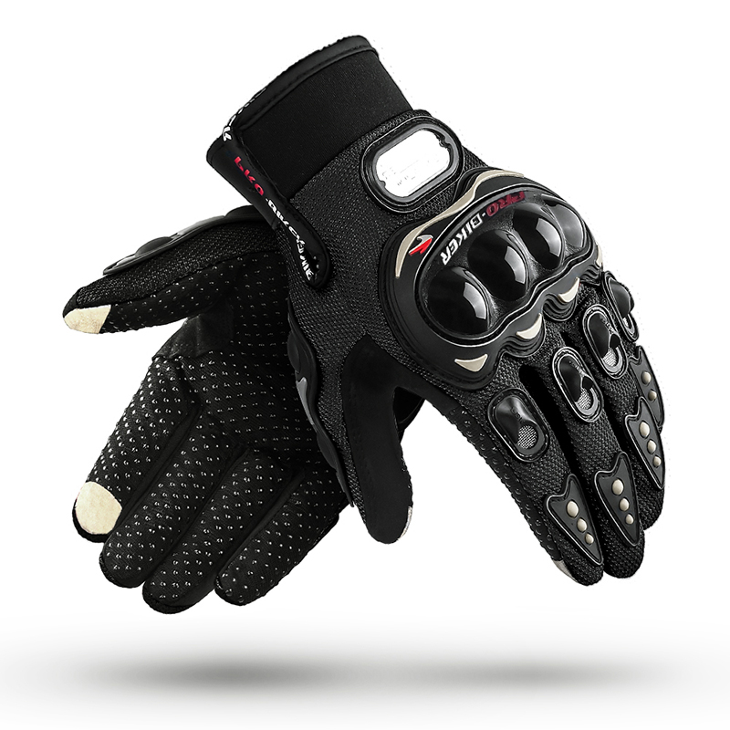 Screen Touch Motorcycle Gloves Full Finger Glove Touchscreen Outdoor Racing Sport Glove Short Motocross Protective Gloves