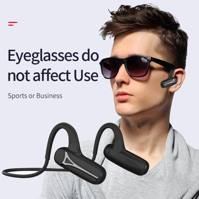 TWS блютуз наушн Bluetooth 5.0 Bone Conduction Earphones Waterproof Fitness Headset Portable Audio and Video Equipment for Sport 1