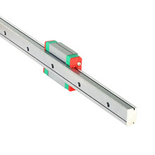 Frete grátis cnc peças MGN9 100 200 300 400 500 600 milímetros em miniatura trilho deslizante linear guia linear + 1pcMGN9H 1pcMGN9/C carro