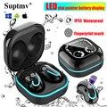 Беспроводные наушники S6 TWS, Bluetooth-наушники, мини-гарнитура, водонепроницаемые музыкальные наушники, спортивные стереонаушники для Iphone, Xiaomi