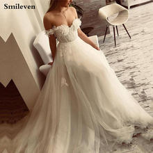 Smileven кружевное свадебное платье принцессы ТРАПЕЦИЕВИДНОЕ