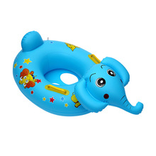 Children's swimming inflatable seat elephant swimming ring life buoy baby water playing in water swimming boat mount pool floats