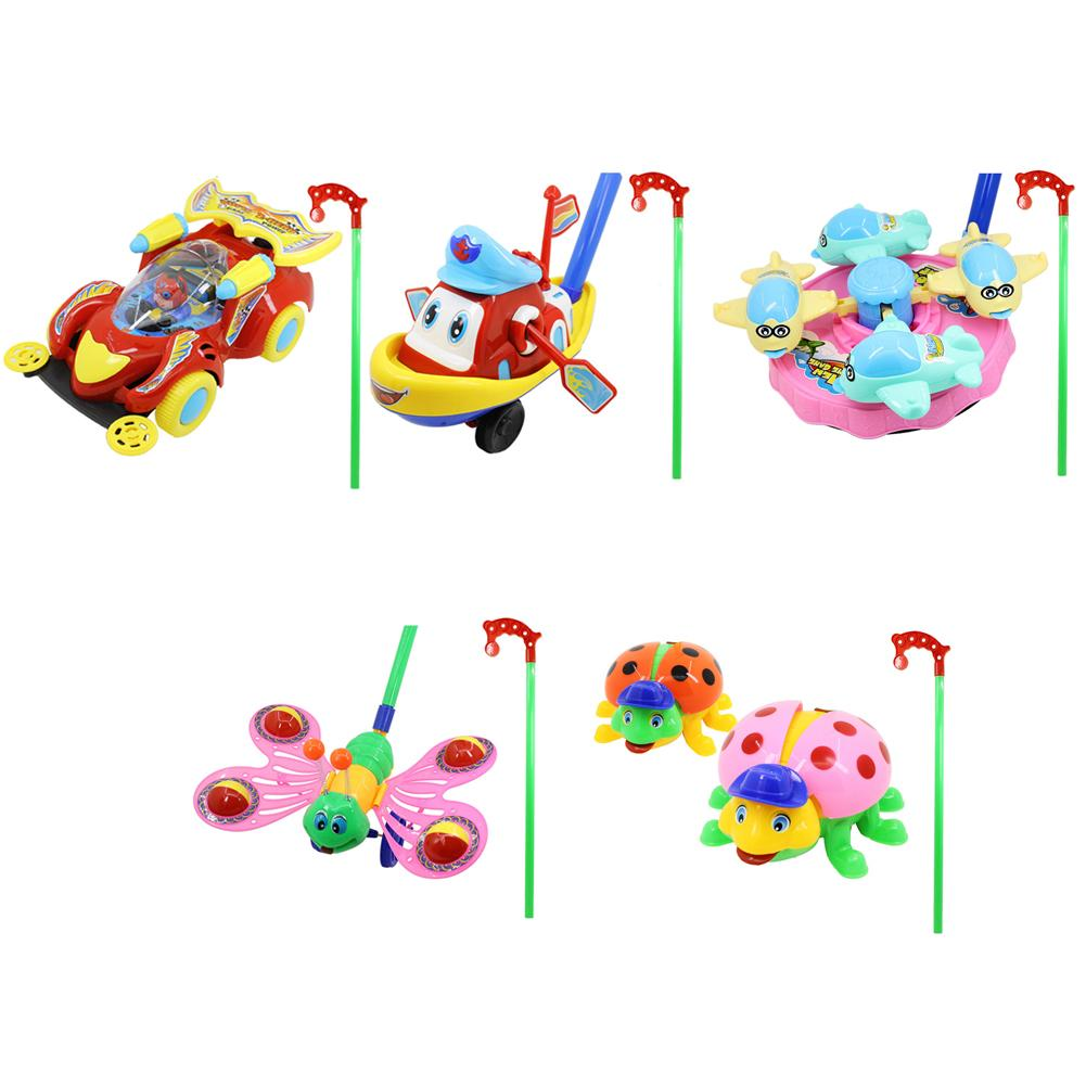 Baby Walker Toy Baby Toddler Push Plane Butterfly With Bell Trolley Toy Push Walker Toy For Children Walker Toys Gift