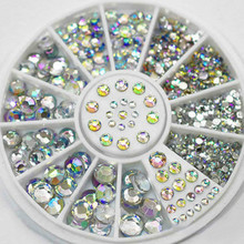 1 шт цветной блестящий камень акриловый порошок поли гель лак для ногтей украшения для ногтей хрустальный Маникюр профессиональные аксессуары для ногтей