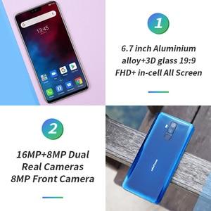 Image 3 - Ulefone T2 6.7 FHD + Helio P70 6GB 128GB Smartphone çift 4G parmak izi yüz kimlik NFC android 9.0 cep telefonu 4200mAh