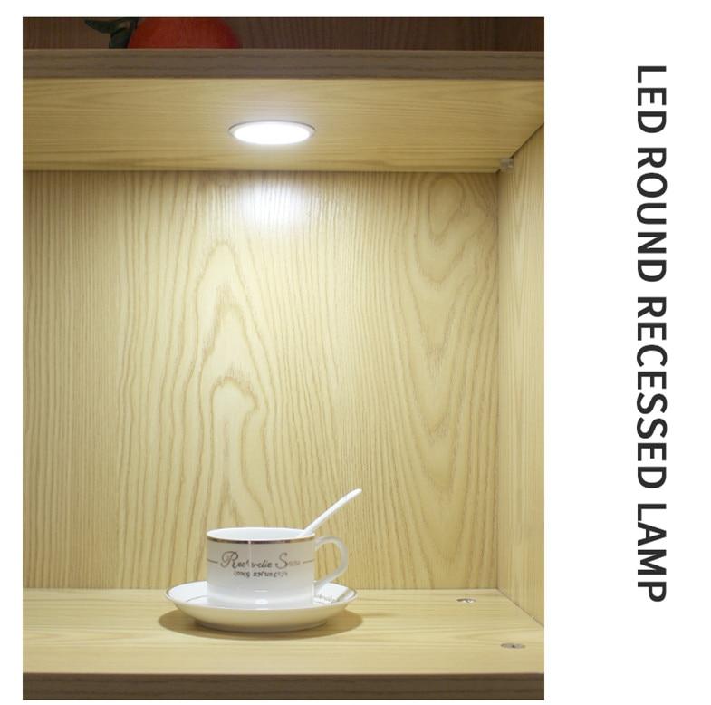 3W LED կաբինետի ներքո թեթև լուսավորող - Ներքին լուսավորություն - Լուսանկար 1