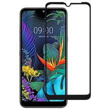 9H Full Screen Tempered Kaca Film untuk LG X6 (2019) / Q60 / K50(China)