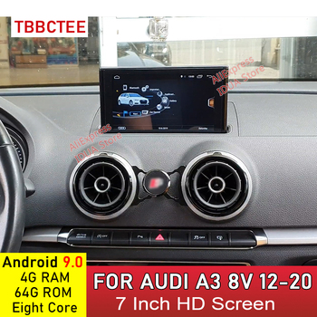 Android 9.0 8 Cores 4+64G For Audi A3 8V 2012~2020 MMi 2G 3G RMC Car Multimedia player GPS Navi player Radio Stereo WiFi image