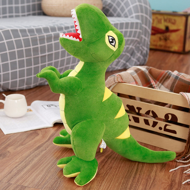 40/60/110cm Cartoon Dinosaur Plush Toys Hobbies Huge Tyrannosaurus Rex Plush Dolls Stuffed Toys For Children Boys Classic Toys