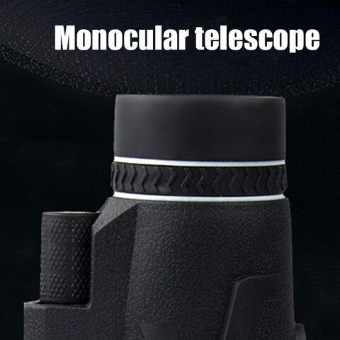 80x100 zooms monocular prisma portatil de alta