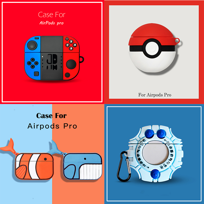 Cute Cartoon Silicone Case For Airpods Pro Case Wireless Bluetooth For Airpod 3 Case Cover For Air Pods Pro Fundas Capa Coque